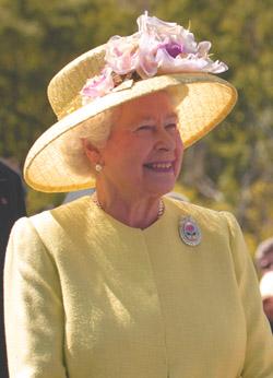 Image depicts Queen Elizabeth II