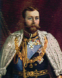 Portrait of George V