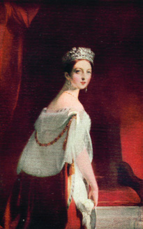 Image depicts Queen Victoria